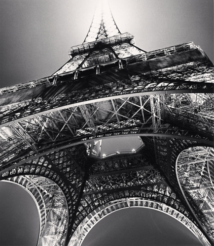 Michael Kenna - Eiffel Tower, Study 3, Paris, France, 1987