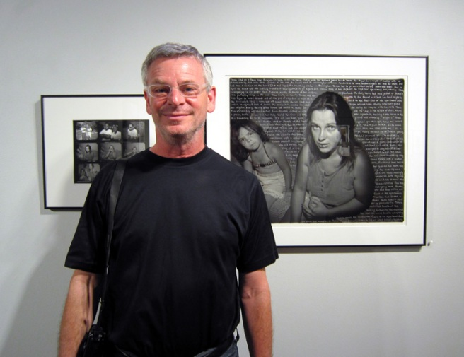 Jeffrey Wolin at opening reception