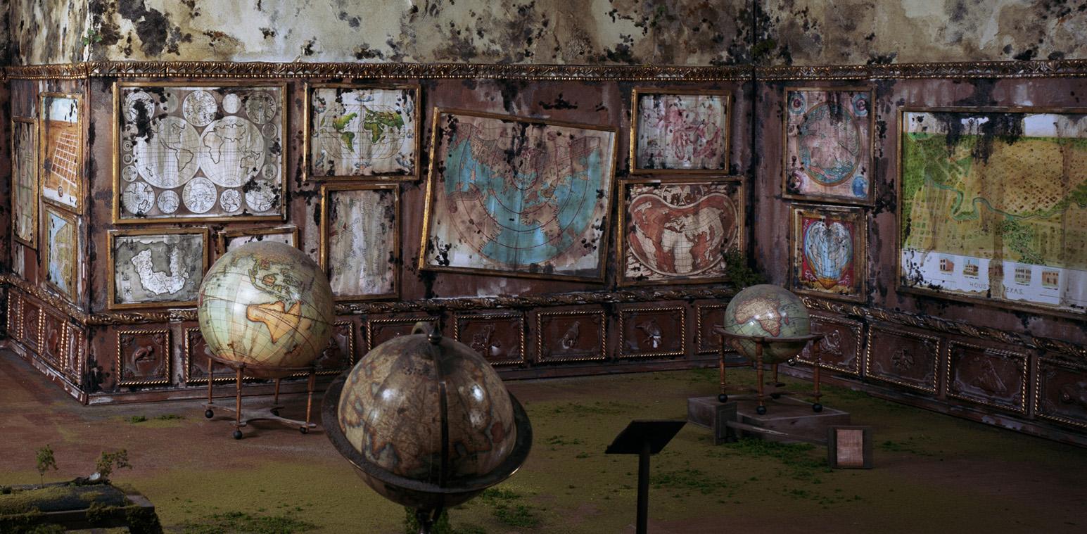 Lori Nix explains Map Room | Cyclops Blog