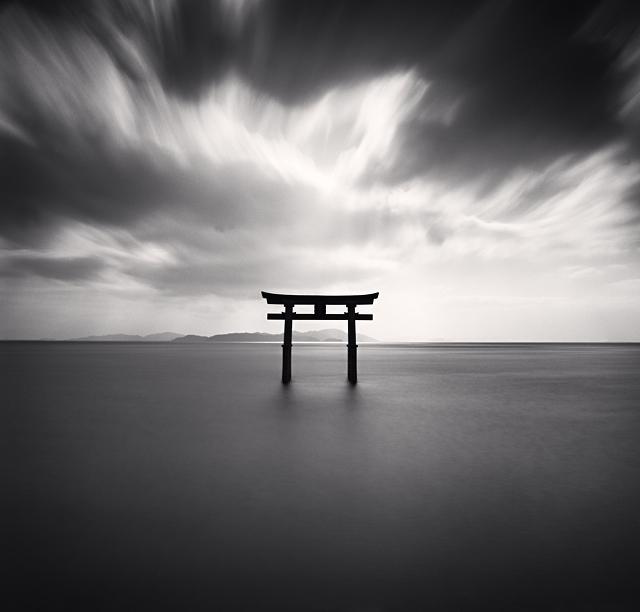 Torii, Study 2, Biwa Lake, Honshu, Japan, 2007