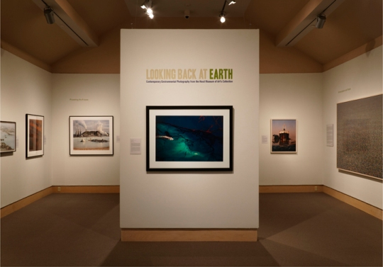 Looking Back at Earth installation © Hood Museum of Art