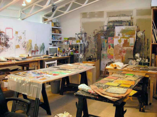 Holly Roberts studio