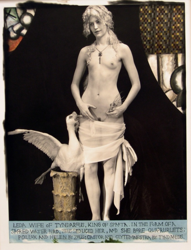 Leda giving her lover a condom, 2011 © Joel-Peter Witkin