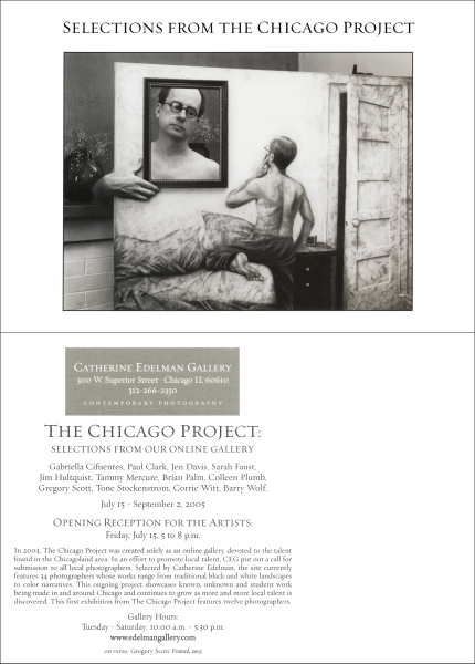 2005 The Chicago Project announcement card