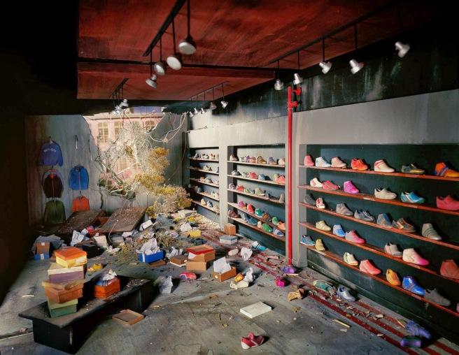Shoe Store, 2013 © Lori Nix
