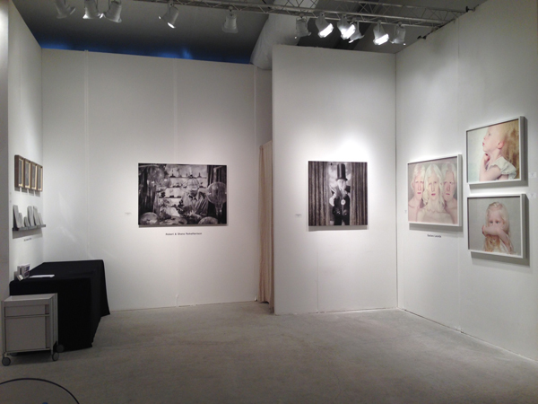 Gustavo Lacerda's work at Art Miami 2013, booth #C18