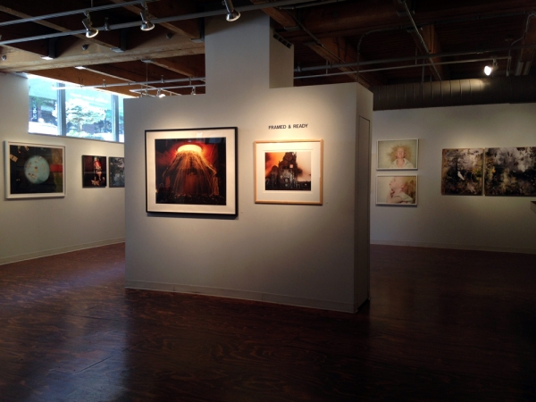 Framed & Ready installation view