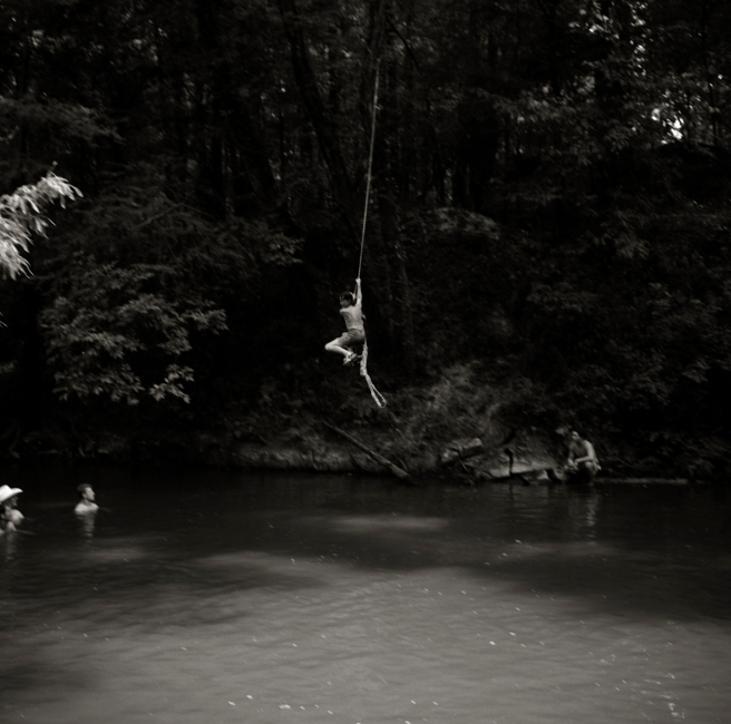 Rope Swing, Merit, MS (1994) Jack Spencer
