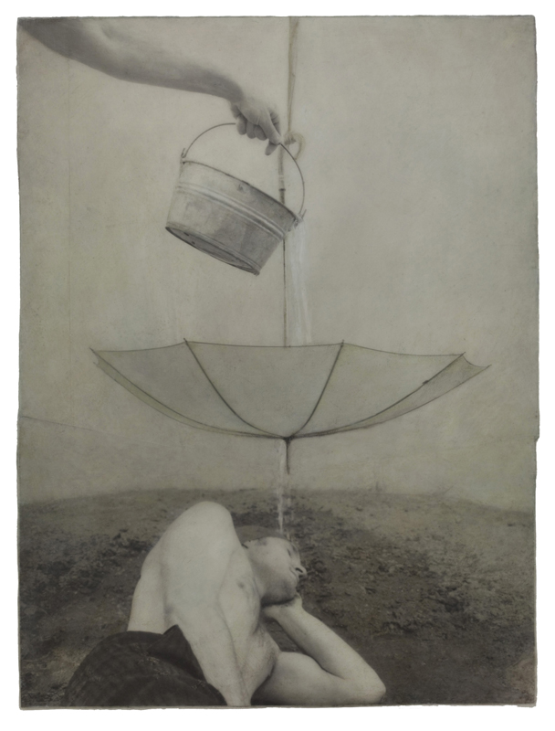 Rain Collage, 1993 © Robert & Shana ParkeHarrison