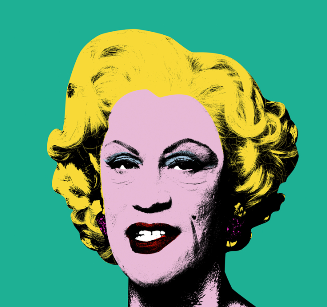On display at EXPO: Andy Warhol / Green Marilyn (1962), 2014 ©Sandro Miller