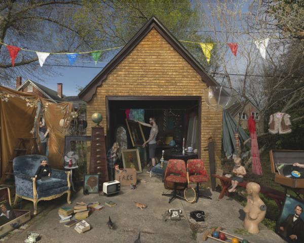 Garage Sale, 2013 © Julie Blackmon