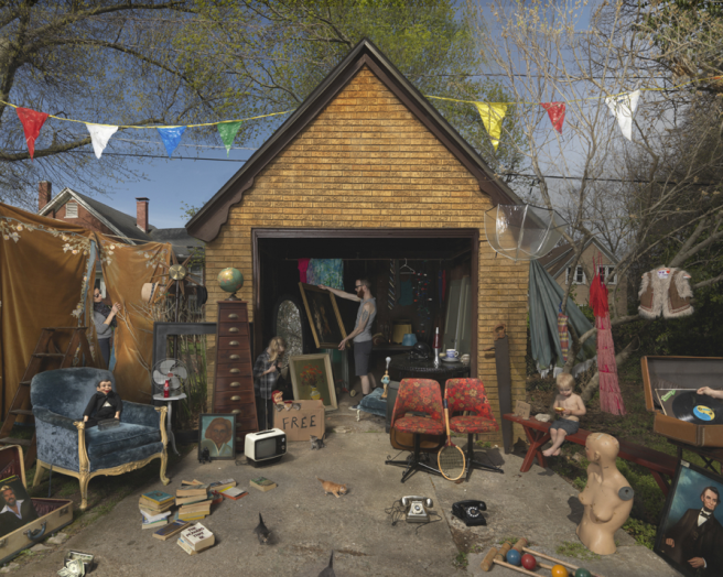 Garage Sale, 2013 © Julie Blackmon