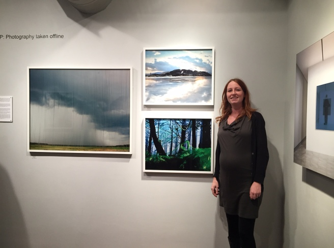 Allison Grant with her series Unsoiled