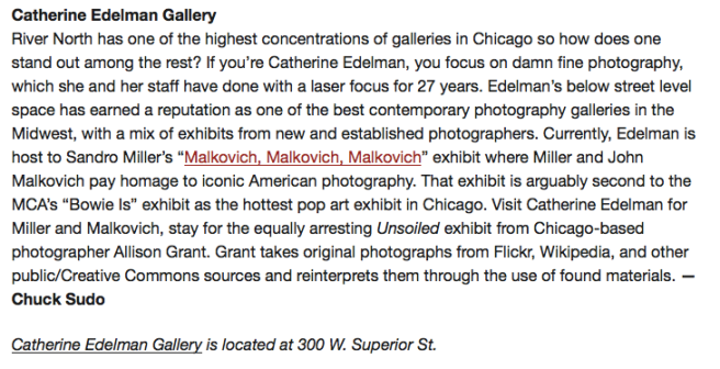 The 16 Best Galleries In Chicago: Chicagoist