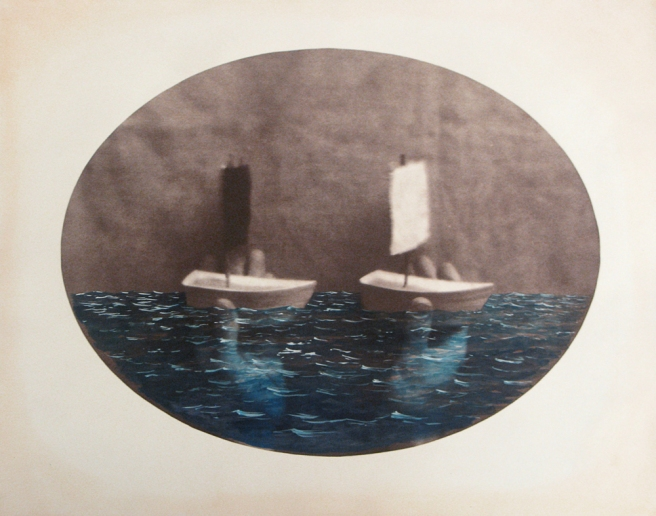 At Sea, 2007 © Dan Estabrook