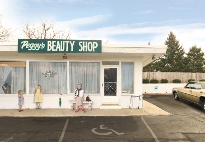 Peggys Beauty Shop, 2015 © Julie Blackmon