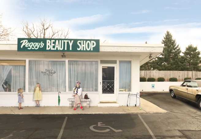 Peggys Beauty Shop, 2015 © Julie Blackmon