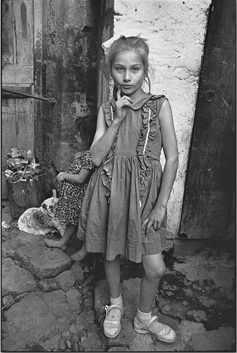 Beautiful Emine Posing, Turkey 1965 © Mary Ellen Mark