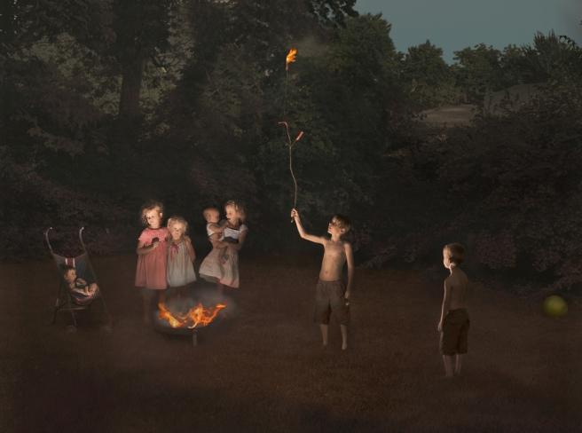 Fire, 2012 © Julie Blackmon