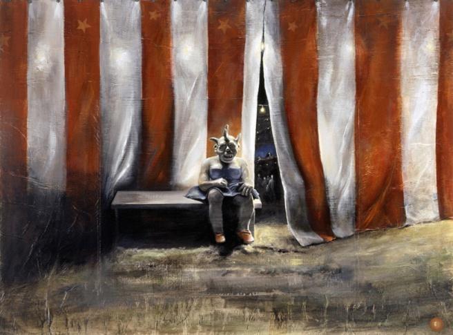 Waiting for the Show, 2004 © Elizabeth Ernst