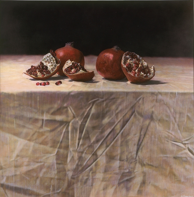 Still Life with Pomegranates, 1993 © Kate Breakey