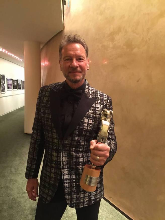 Sandro at the 2015 Lucie Awards © Sandro Miller