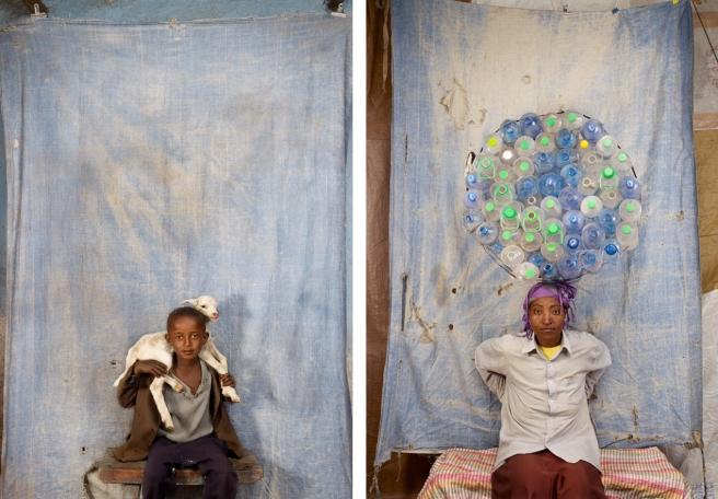 Aftam, Ethiopie, 2012 & Shagitu, Ethiopia, 2012 © Floriane de Lassée