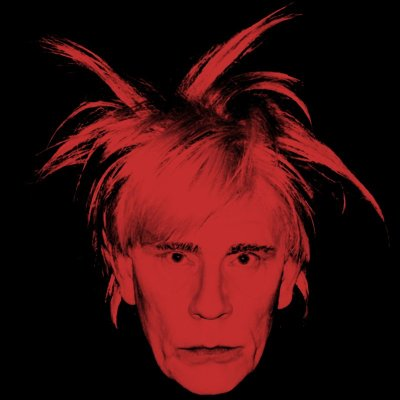 Andy Warhol / Self Portrait (Fright Wig) (1986), 2014 © Sandro Miller