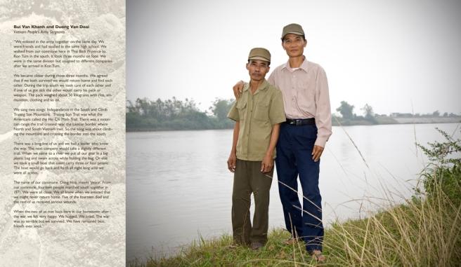 Bui Van Khanh & Duong Van Doai / Veterans Vietnam People's Army , 2008 © Jeffrey Wolin