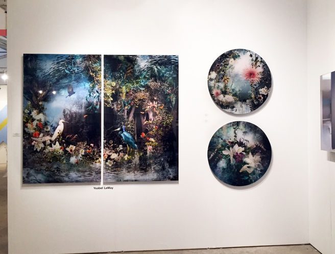 Ysabel LeMay install at Art Miami 2015