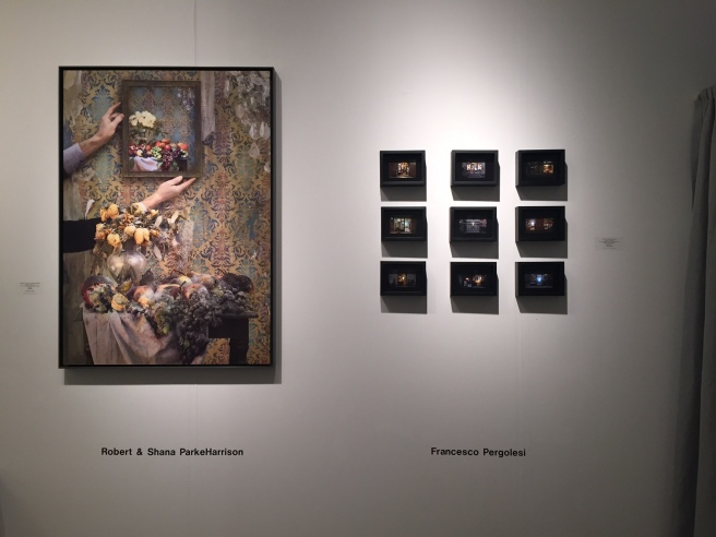 Francesco Pergolesi install at Art Miami 2015