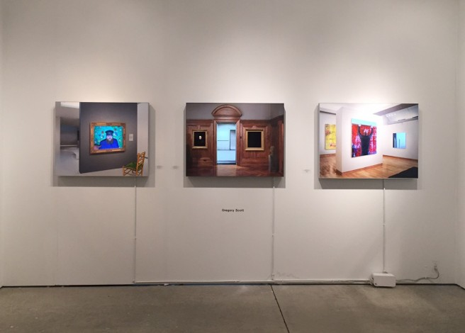 Gregory Scott install at Art Miami 2015