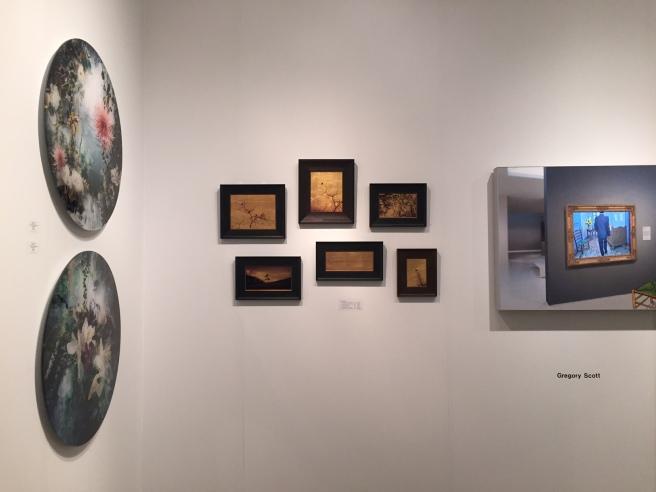 Kate Breakey install at Art Miami 2015