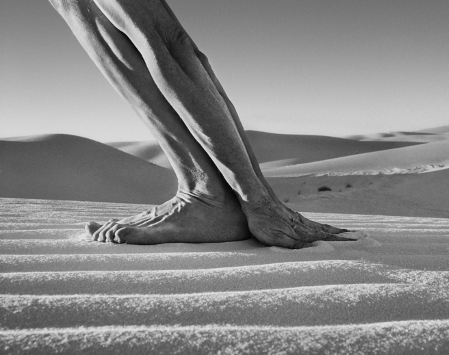 Hands and Feet, White Sands, NM, 2000 © Arno Rafael Minkkinen
