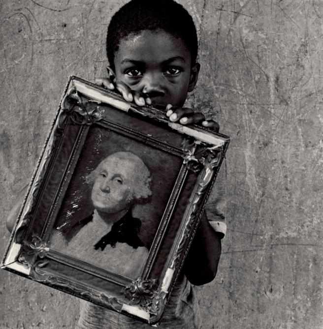 George Washington, 1990 © Keith Carter