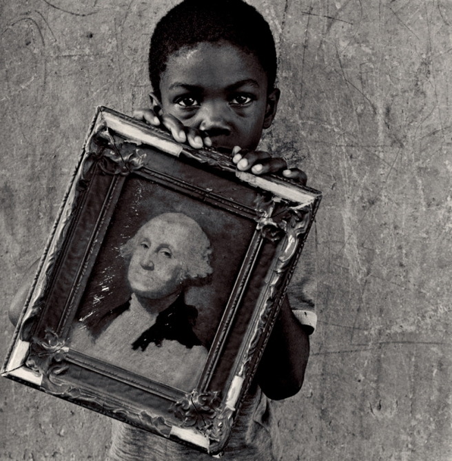 George Washington, 1990 © Keith Carter