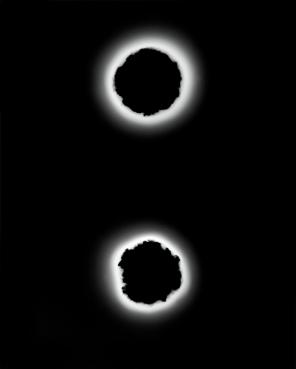Void (.22 Caliber), 2015 (double hole)