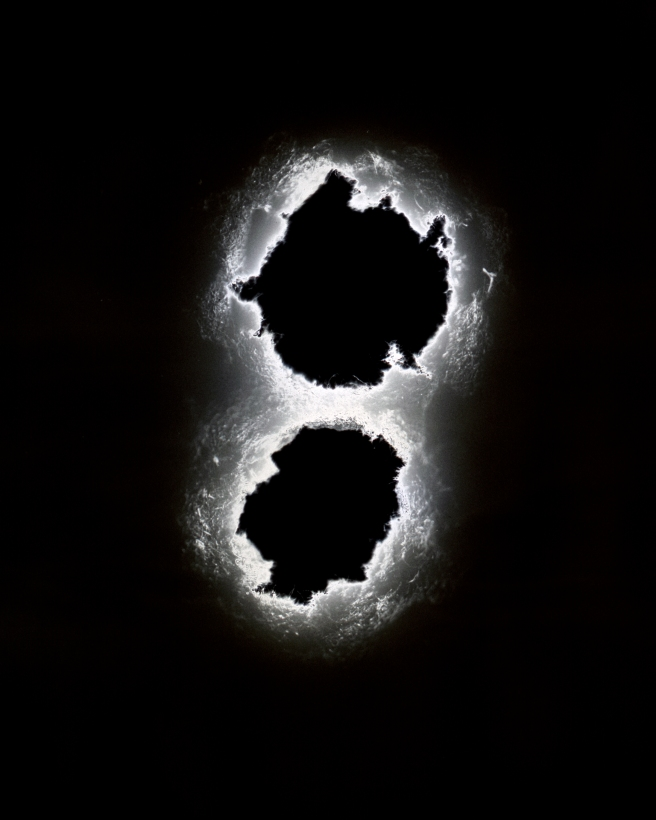 Void (.38 Special), 2015 (double hole)