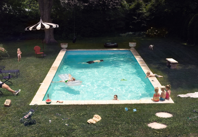 Pool, 2015 @ Julie Blackmon