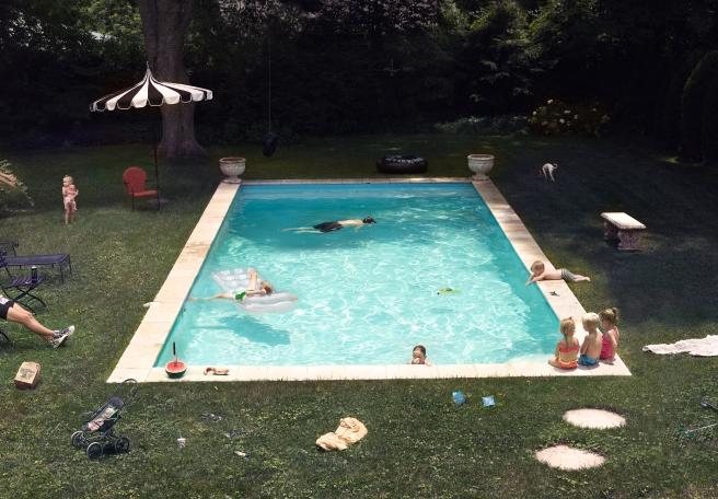 Pool, 2015 @ Julie Blackmon