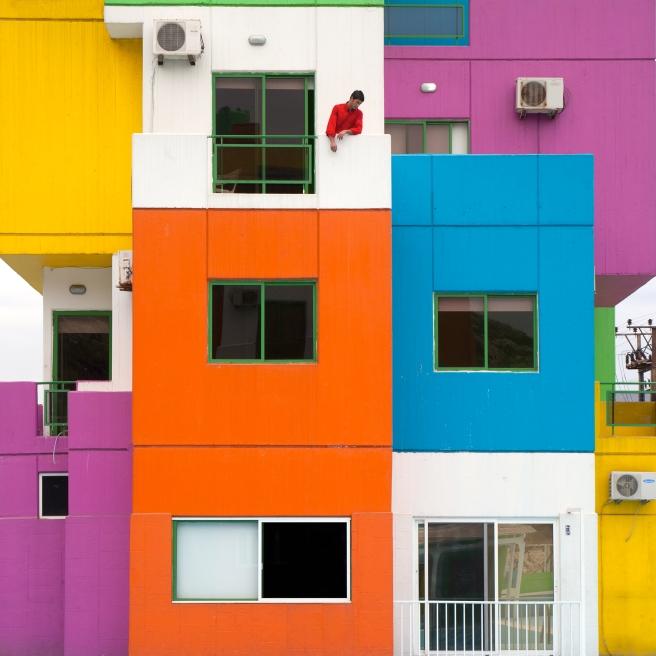 Rubiks House, 2014 © Serge Najjar