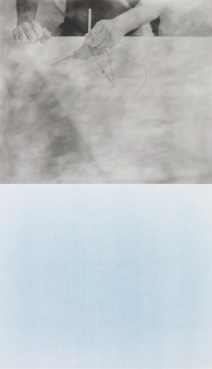 Cyanomètre 1, 2017 © Laurent Millet