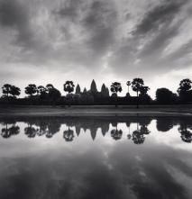 Daybreak Reflection, Angkor Wat, Cambodia, 2018 © Michael Kenna