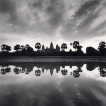 Daybreak Reflection, Angkor Wat, Cambodia, 2018 © Michael Kenna