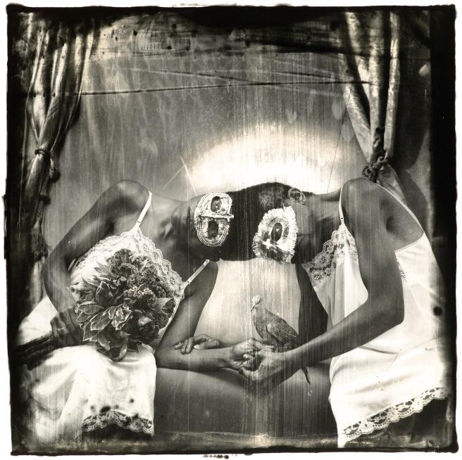 Image: Joel-Peter Witkin, Siamese Twins, LA, 1988