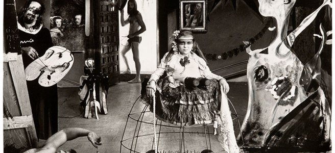 Image: Las Meninas, New Mexico, 1987 by Joel-Peter Witkin
